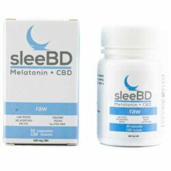 Sleebd CBD Pills Raw