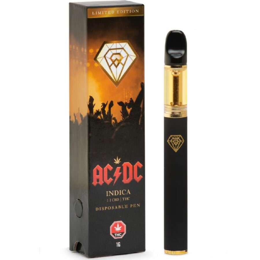 Limited Edition ACDC Black Diamond Vape Pen