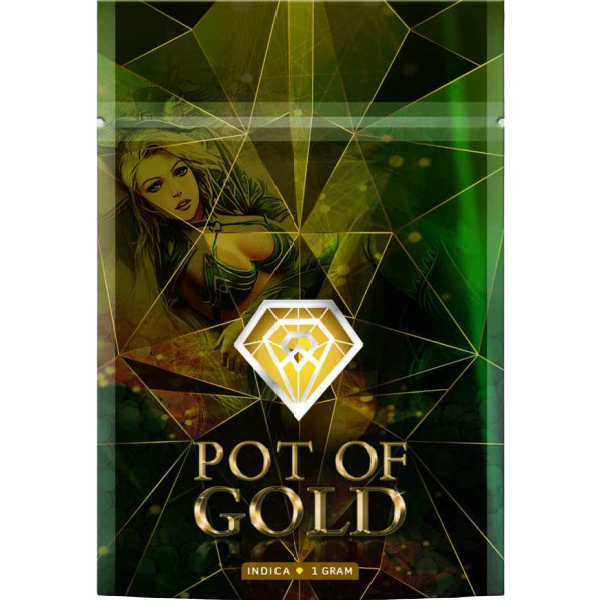 Pot Of Gold Shatter Diamond Indica