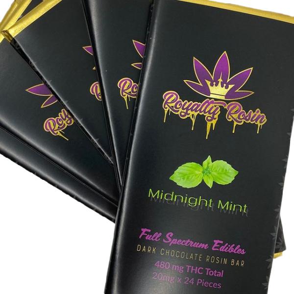 Royalty Rosin Full Spectrum Chocolate Bars