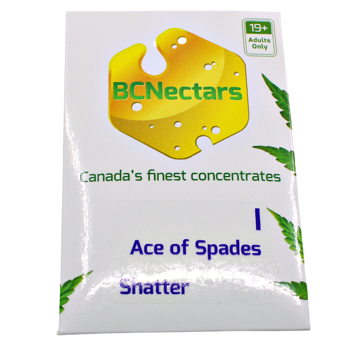 Ace of spades Front BC Nectar White