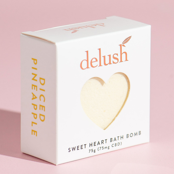 Delush Bath Bomb Diced Pineapples