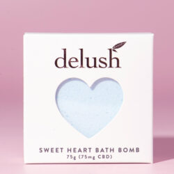 Delush Bath Bombs Blueberry Yum Yum