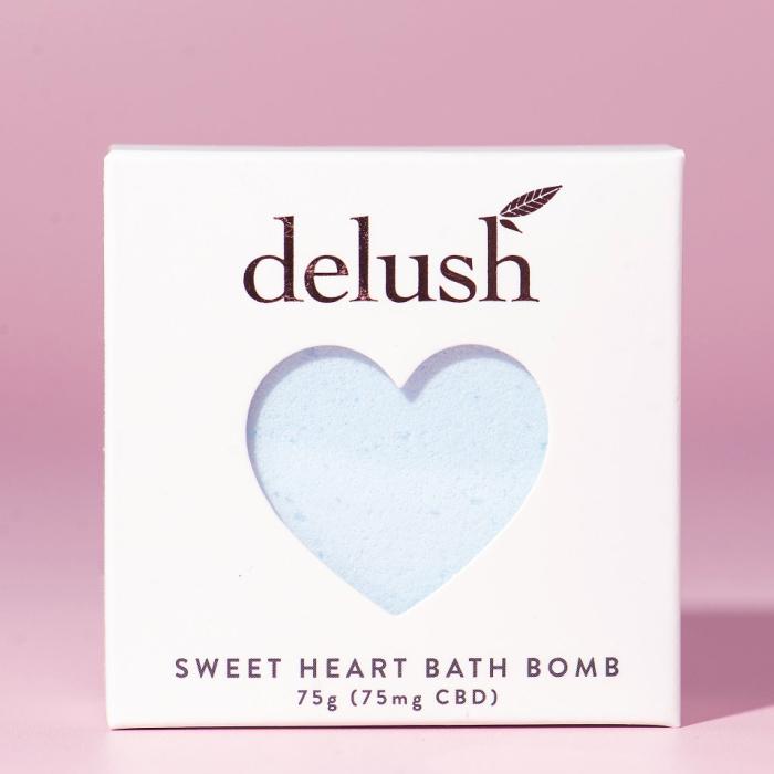 Delush Bath Bombs Blueberry Yum Yum