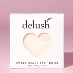 Delush Bath Bombs Sweet Mandarin