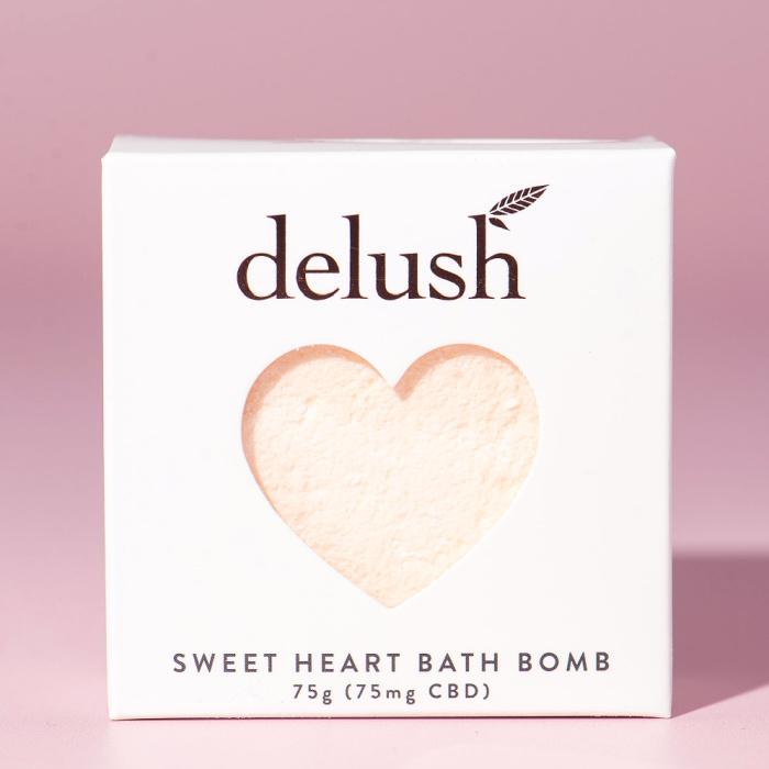 Delush Bath Bombs Sweet Mandarin