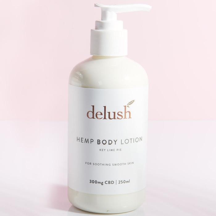 Delush Hemp Body Lotion