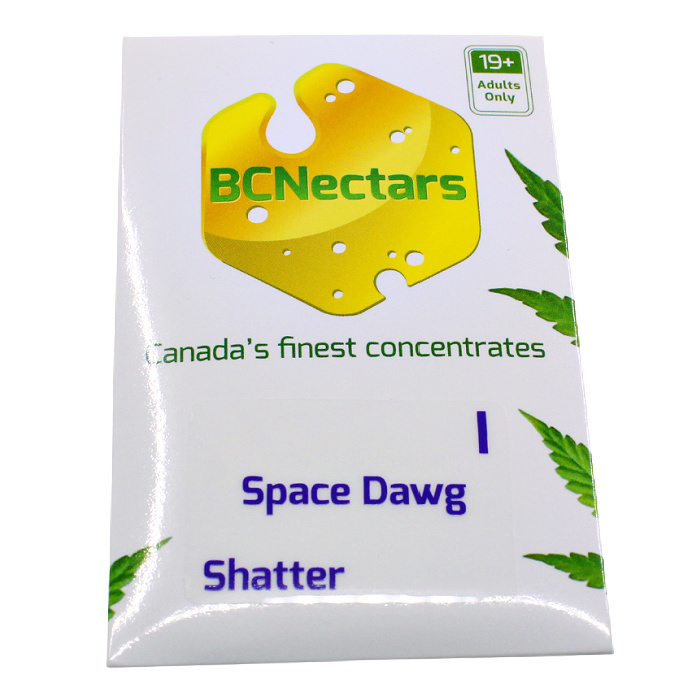 Space Dawg Front BC Nectar Shatter