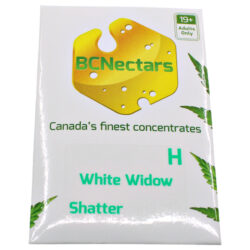 White Widow BC Nectar Shatter