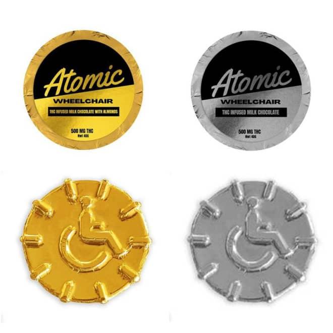 Atomic Wheelchair Chocolates