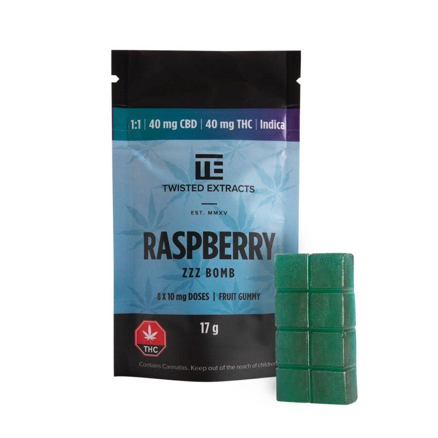 Twisted Indica 1:1 Raspberry